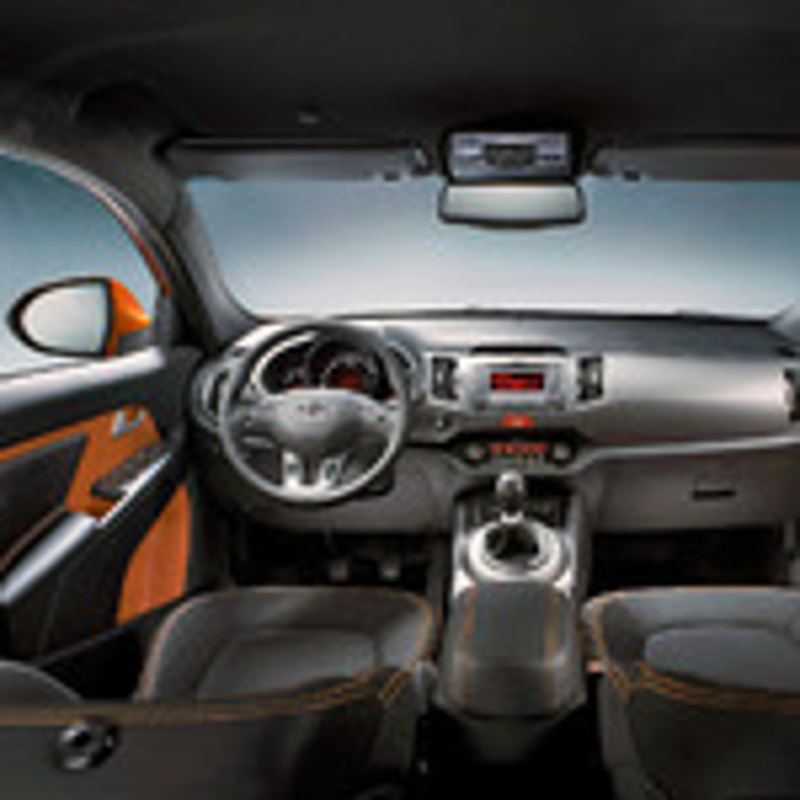 Скрипят передние сидения Kia Sportage III фото