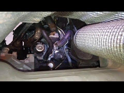 Как заменить масляный фильтр на Skoda Octavia