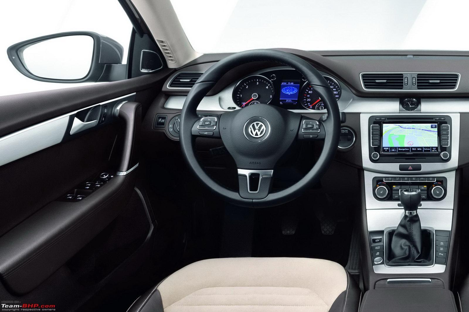 Особенности российских комплектаций VW Passat B7