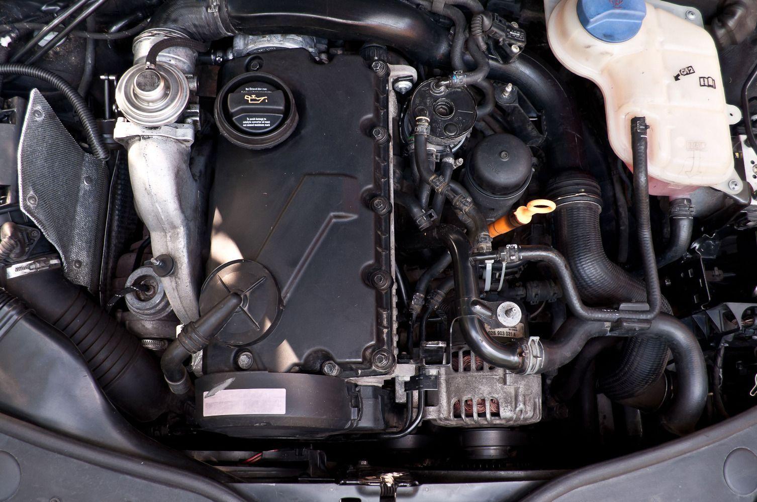 Черный дым при резком ускорении на VW Passat B7 с дизельным двигателем