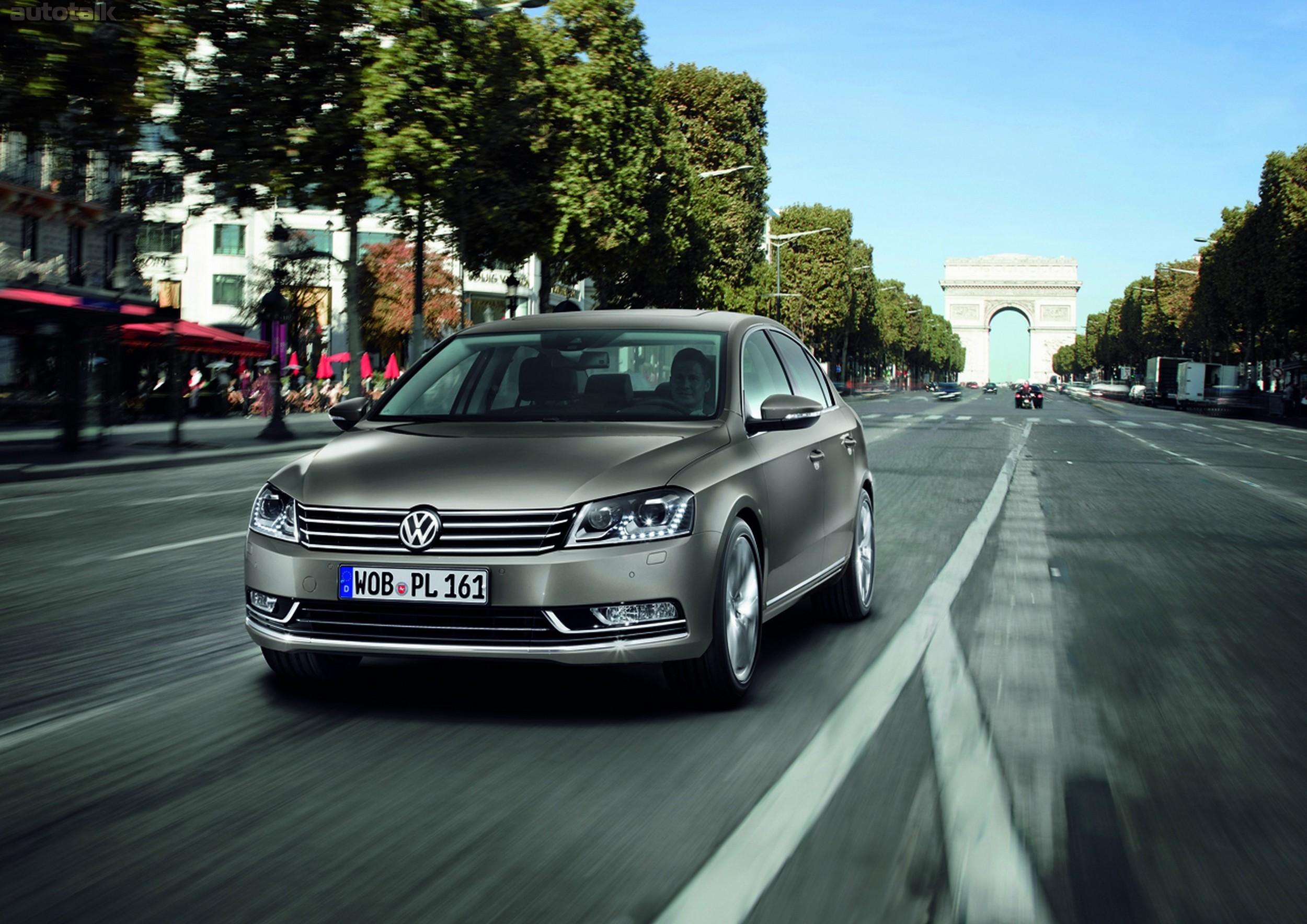 Особенности гарантии на отдельные элементы VW Passat B7