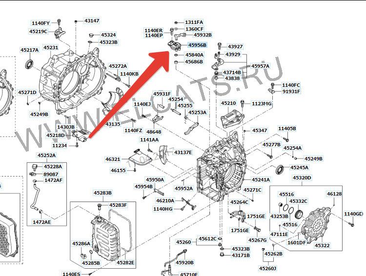 Различные проблемы с АКПП Hyundai ix35
