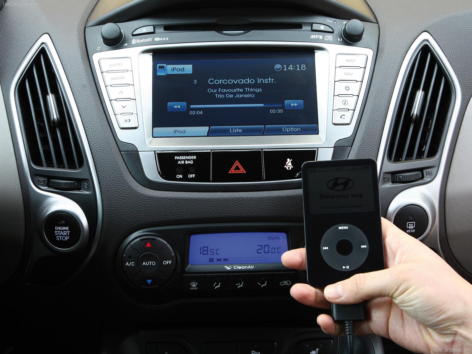 Список совместимых с навигационной системой телефонов Hyundai ix35