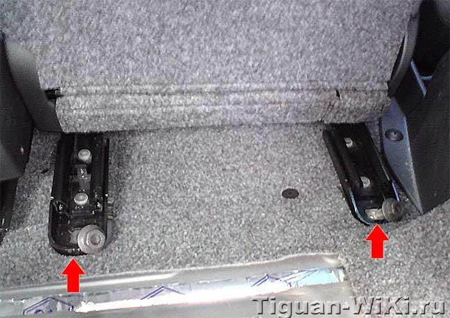 Как оснастить водительское сиденье VW Tiguan памятью регулировок