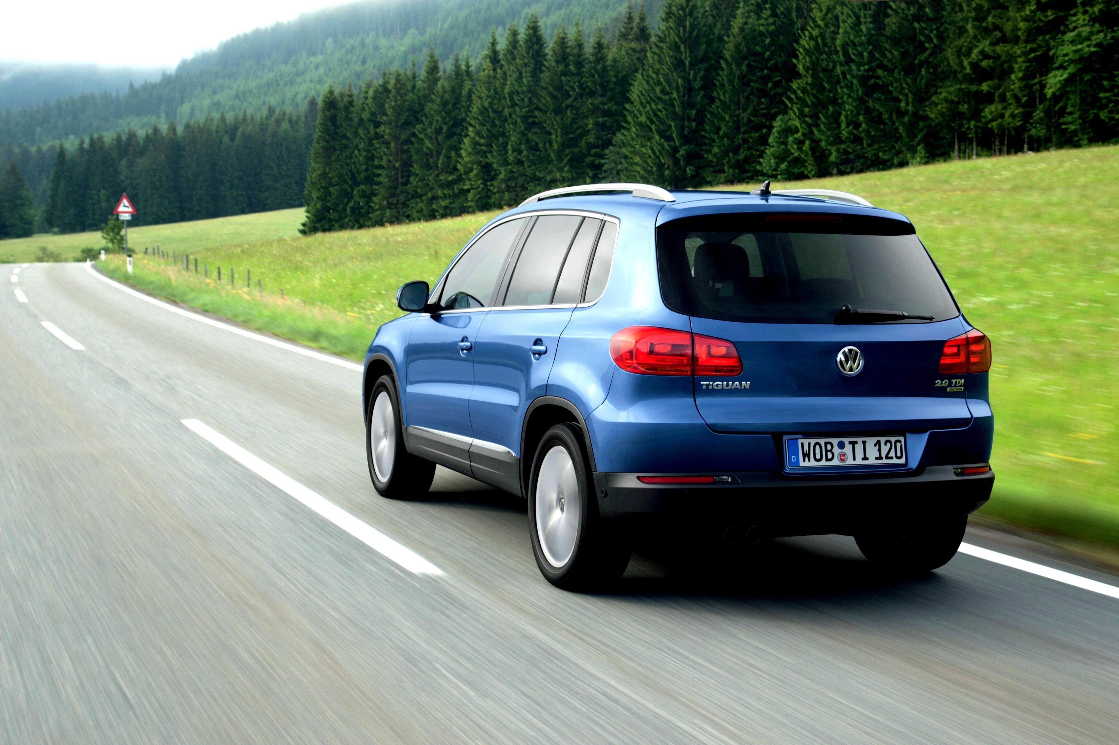 Почему VW Tiguan с турбодизелем и АКПП стартует со второй передачи?