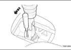 Как отрегулировать ручник в Chevrolet Aveo