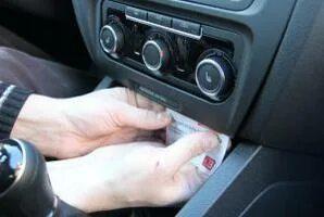 Какова функция клавиши «ТР» на штатной аудиосистеме VW Golf VI
