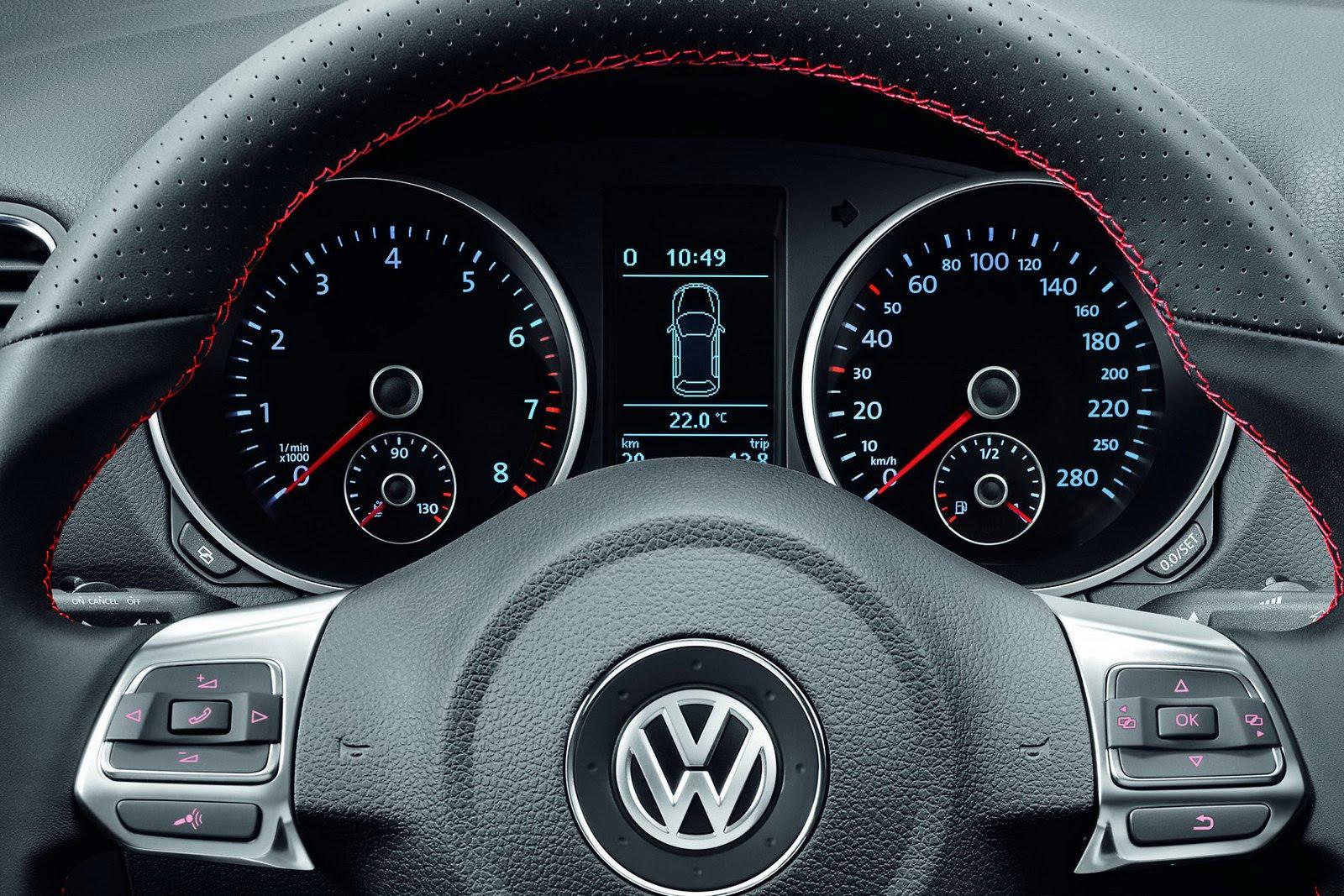 Бортовой компьютер показывает неверные интервалы обслуживания на VW Golf VI