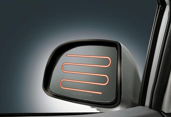 Как включается обогрев зеркал заднего вида на VW Golf VI?