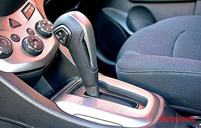 Рычаг АКПП Chevrolet Aveo заклинило в режиме P