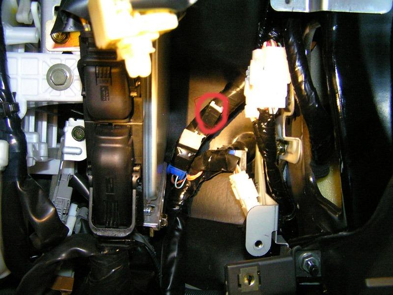 Самостоятельная замена лампы подсветки АКПП на Nissan X-Trail II
