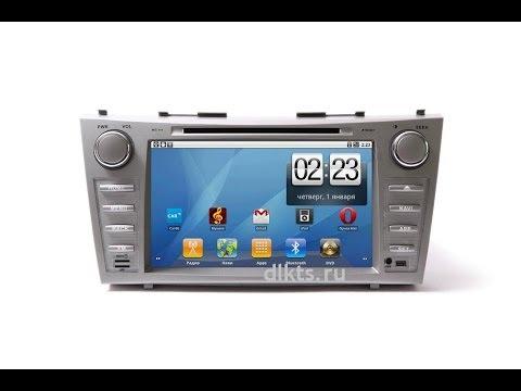 Плохо работает штатная магнитола в Toyota Camry