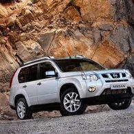 Установка защитной сетки в бампер Nissan X-Trail 2 фото