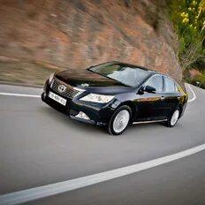 Холодный двигатель Toyota Camry VII работает шумно фото