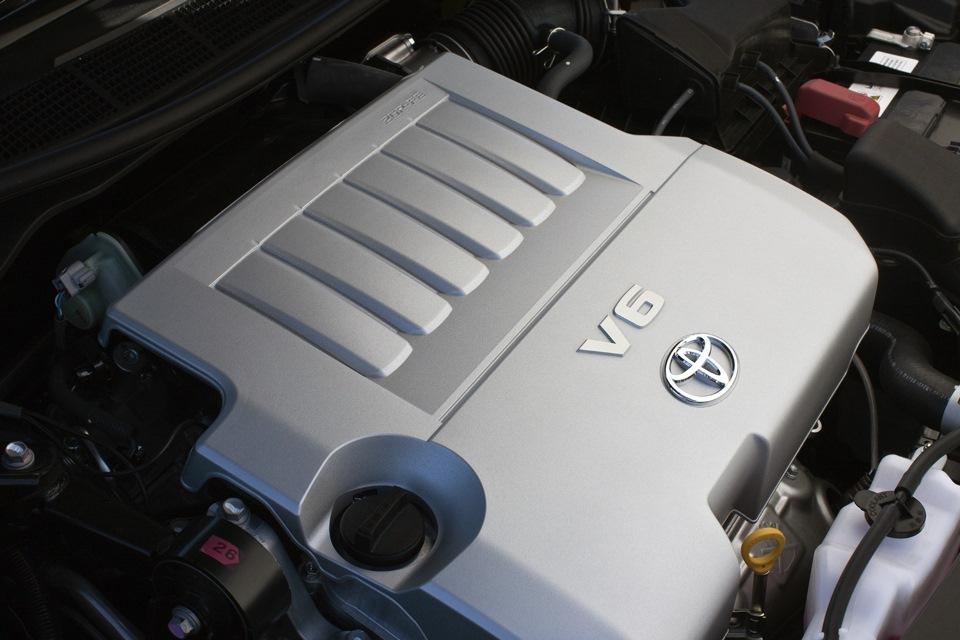 Вытекло моторное масло из двигателя Toyota Camry VII объемом 3,5 литра