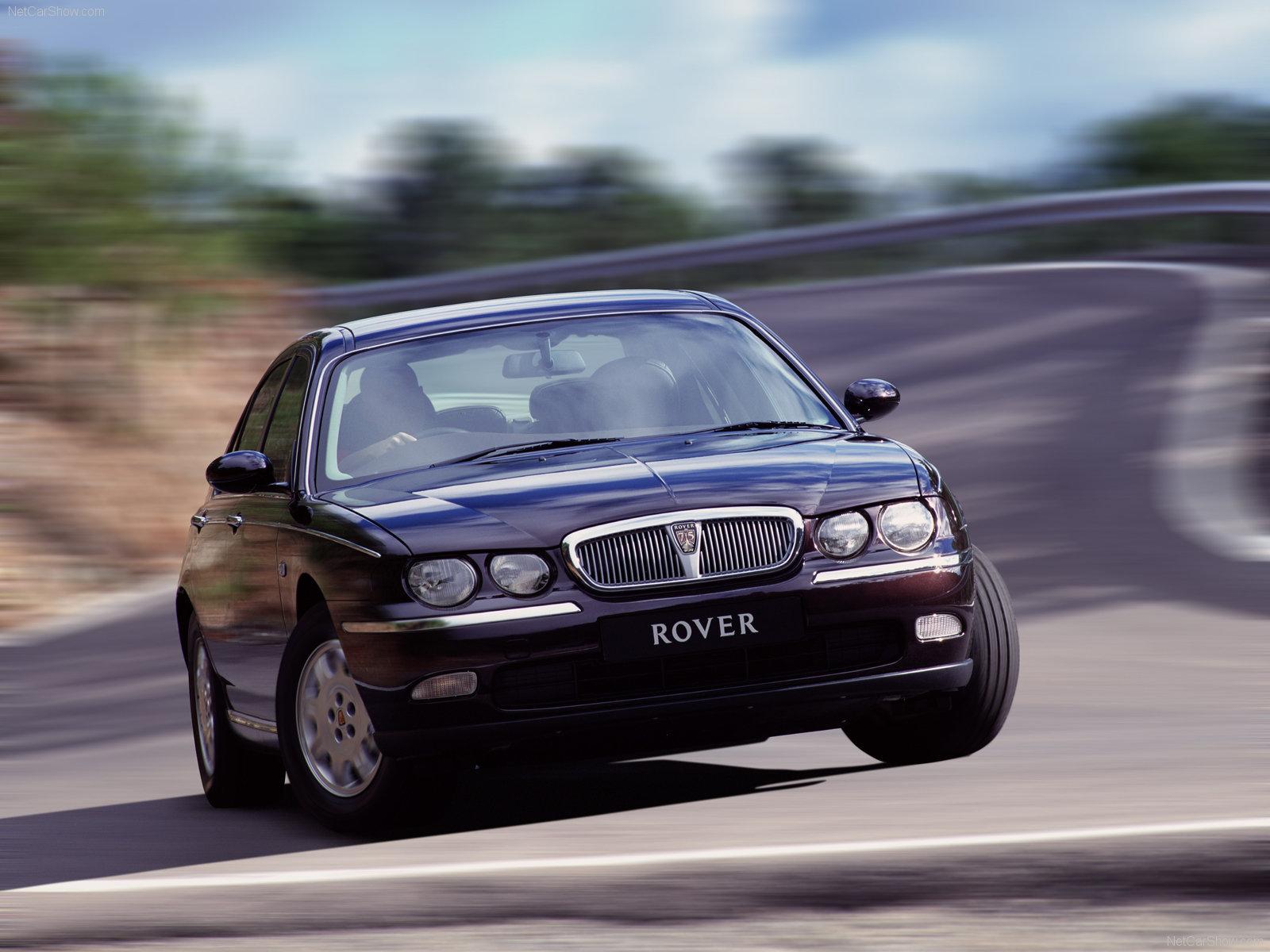Rover 75 — описание модели
