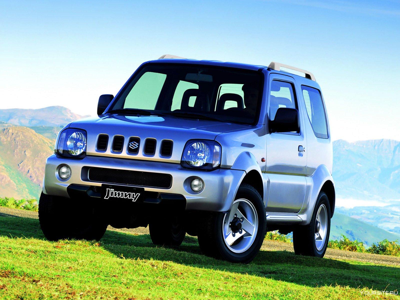 Suzuki Jimny — описание модели
