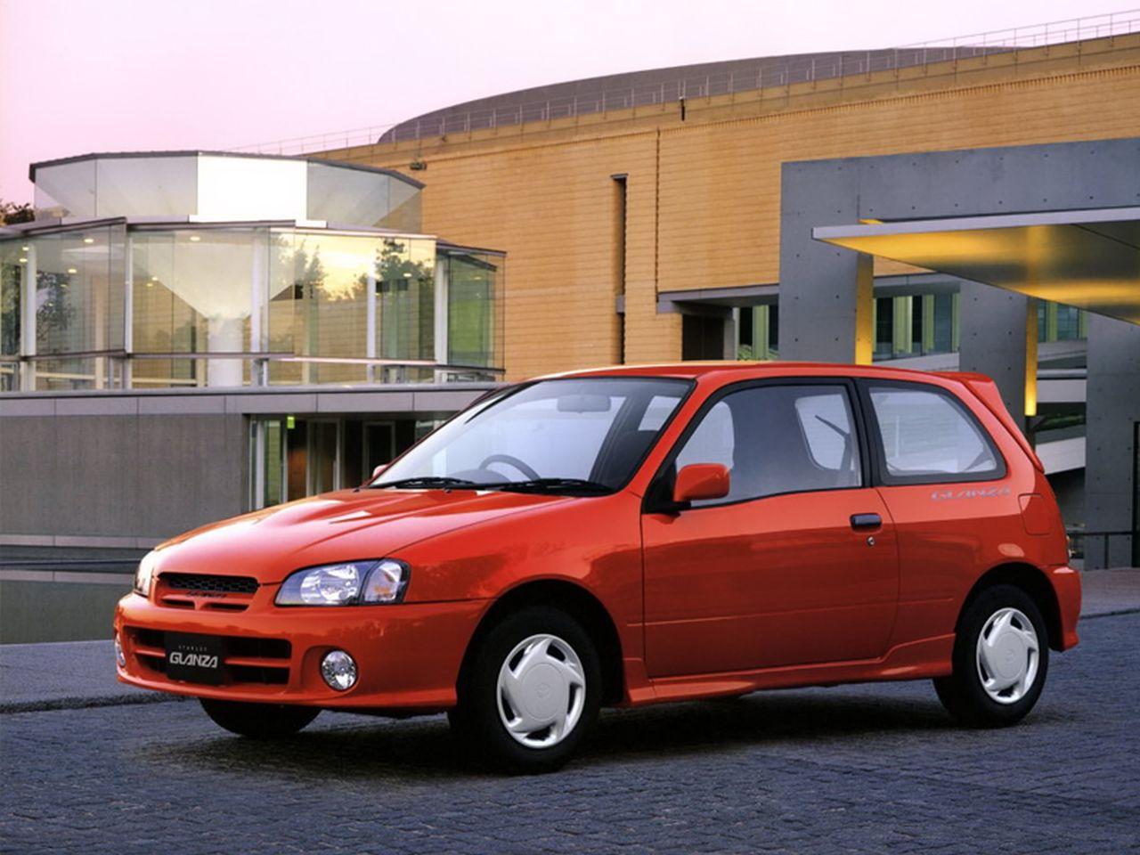 Toyota Starlet — описание модели