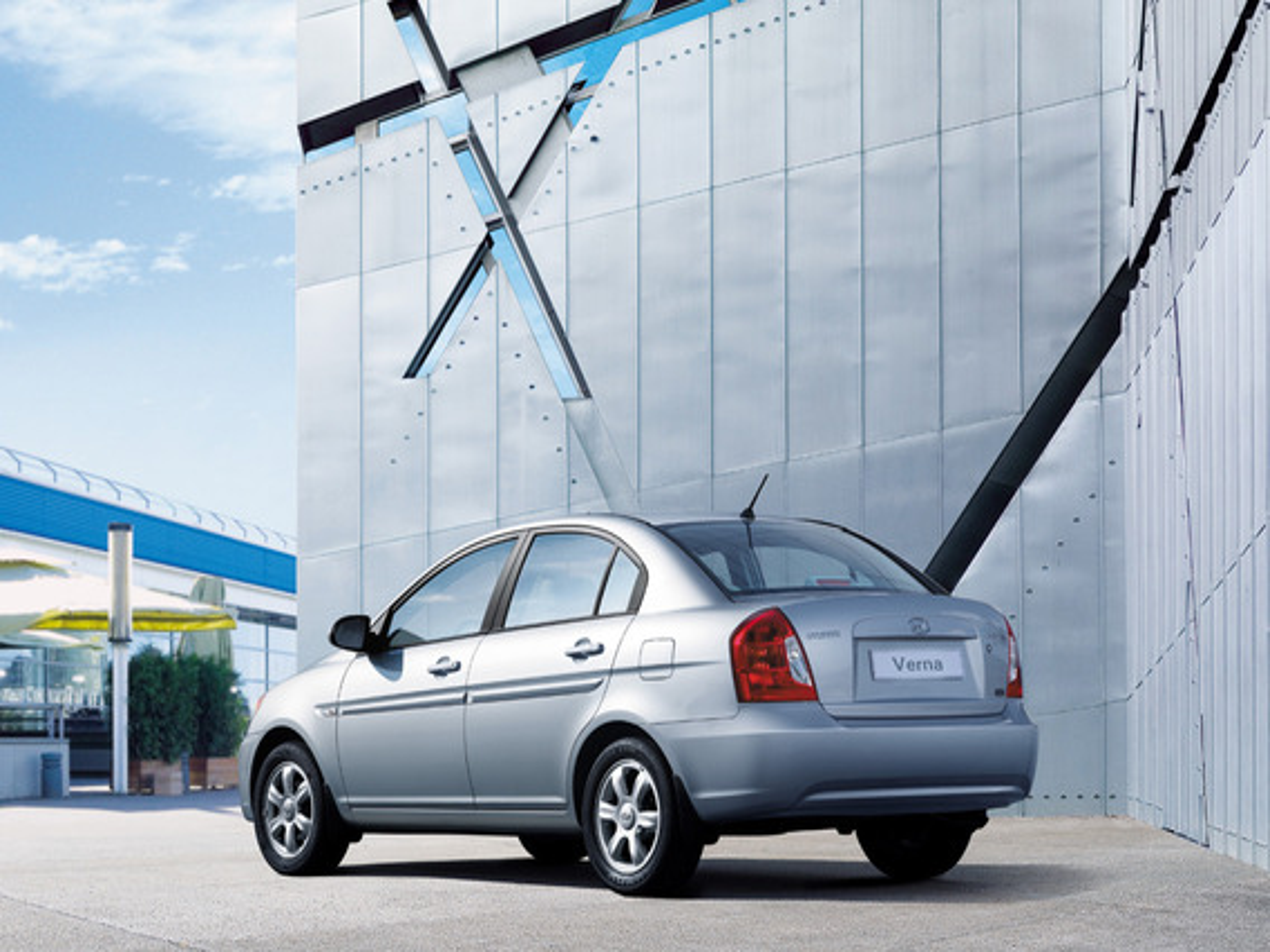 Hyundai Verna — описание модели