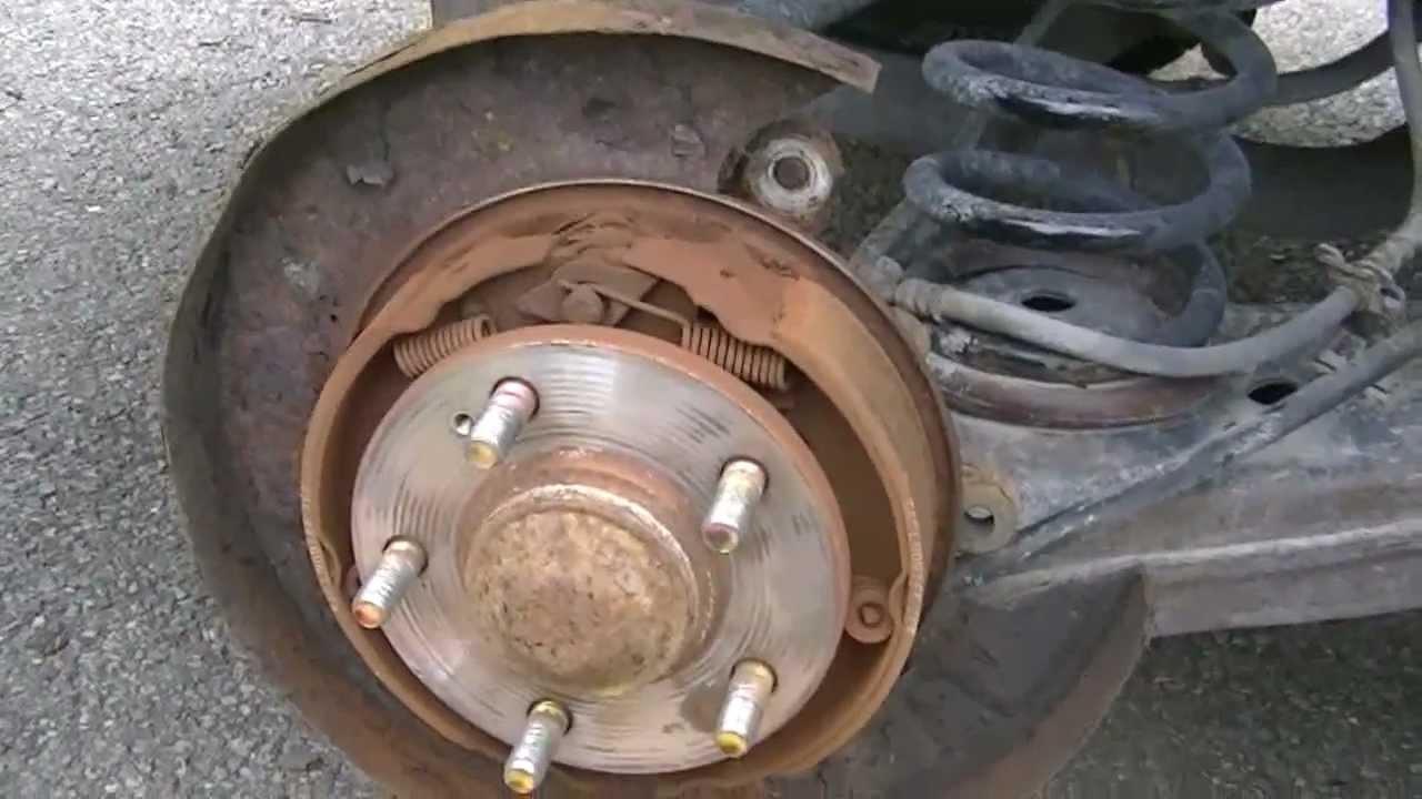 Скрежет в задних тормозных барабанах Hyundai Accent