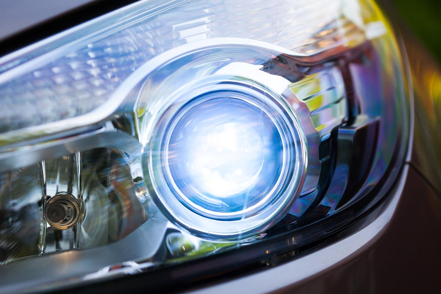 Плохо светит штатный ксенон Toyota Camry VII