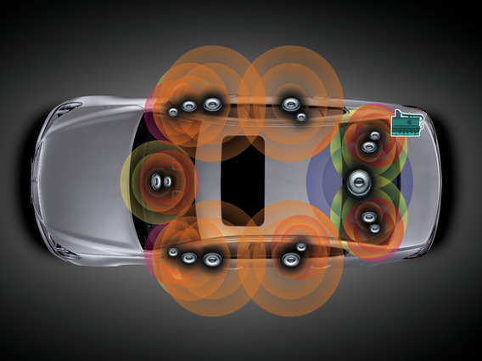 Как снять штатную аудиосистему VW Golf VI?