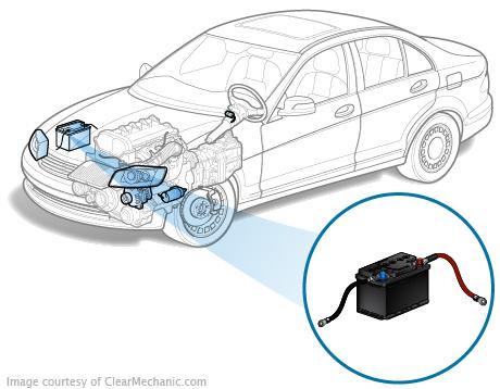 Как снять аккумулятор Chevrolet Lacetti?
