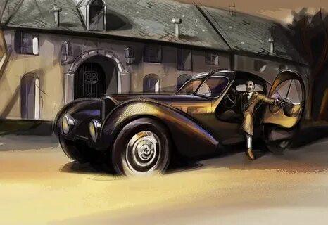 Bugatti Type 57 — легендарная модель