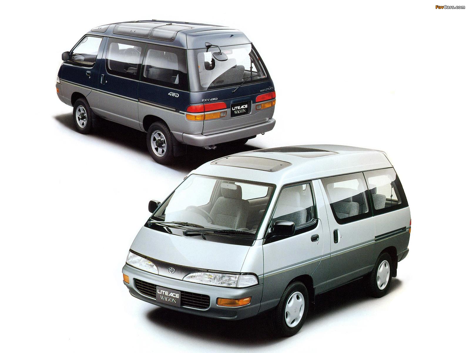 Toyota Noah — описание модели