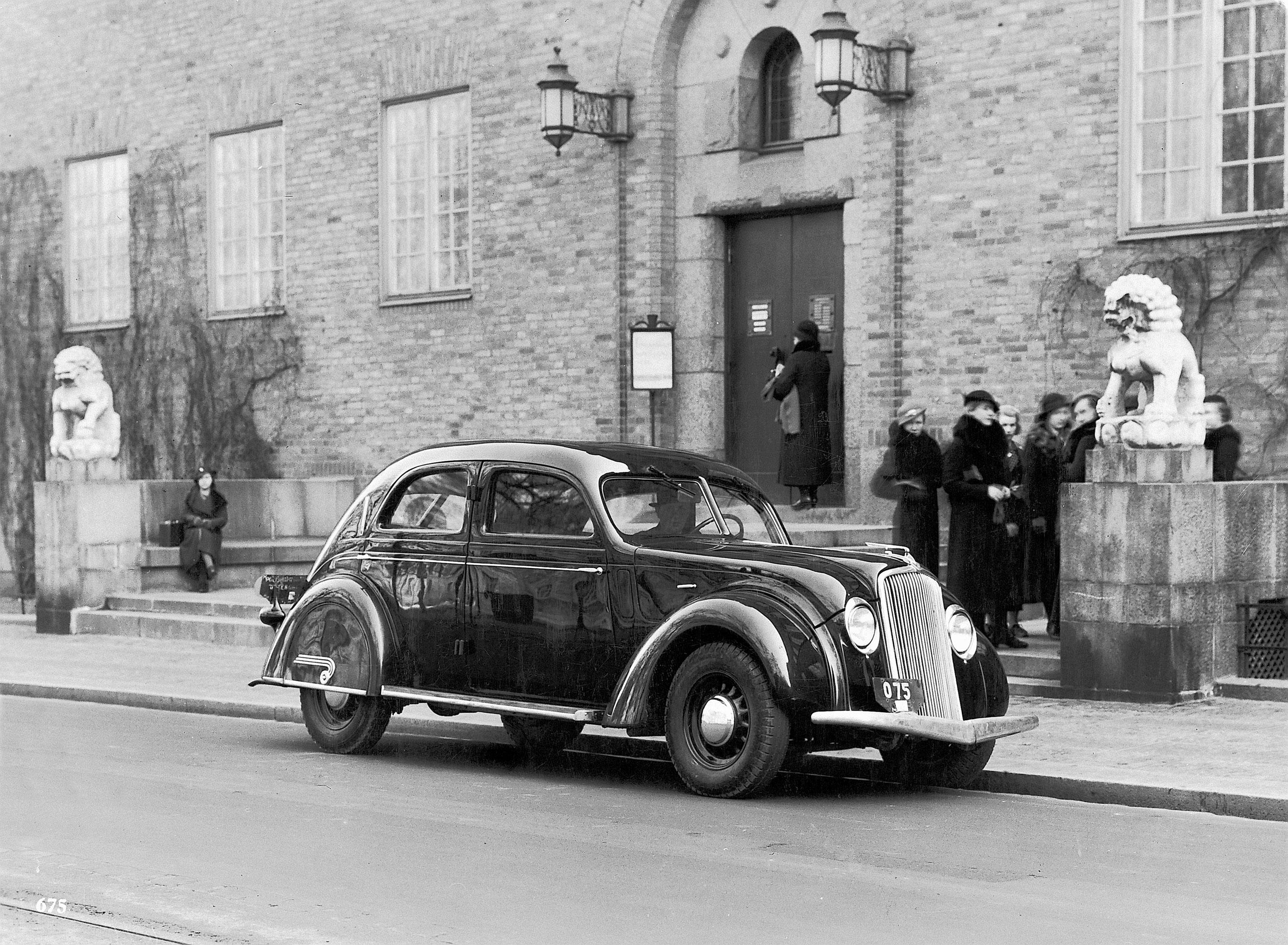 История европейского автопрома 30-х годов