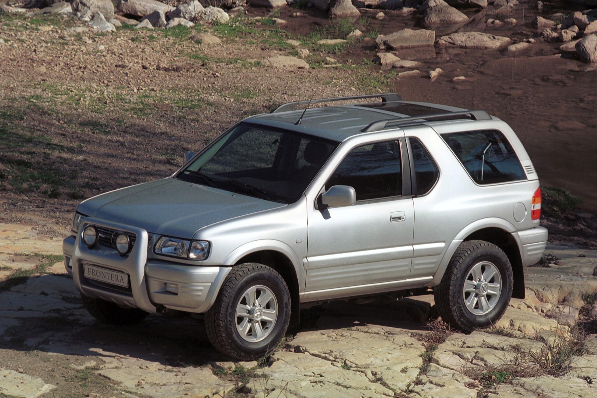 Opel Frontera — описание модели