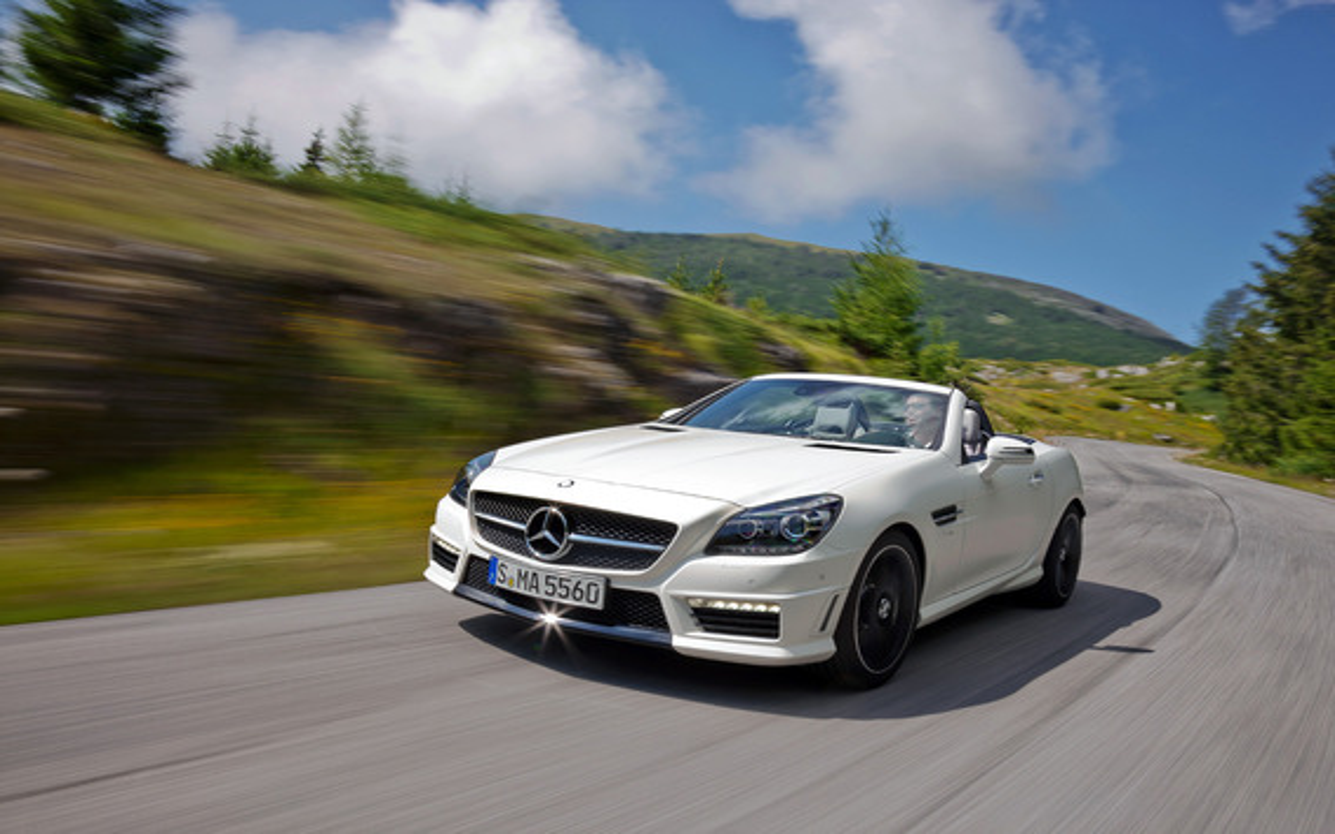 Mercedes-Benz SLK-Class — описание модели