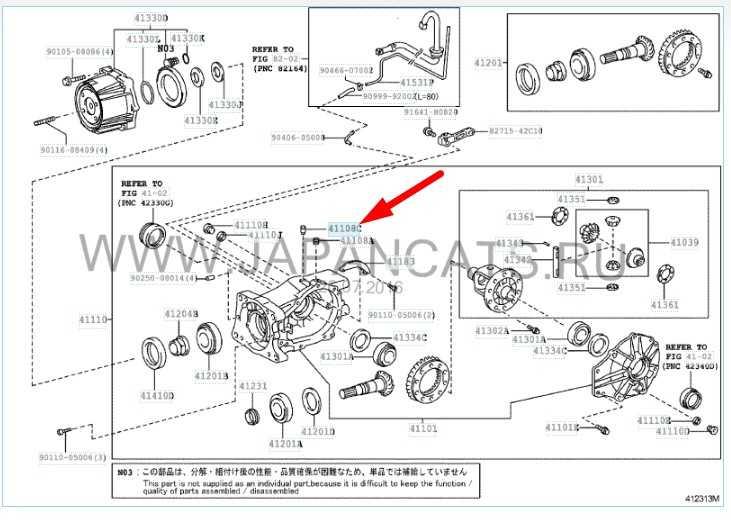 Замена сальников задних полуосей Toyota RAV-4 III
