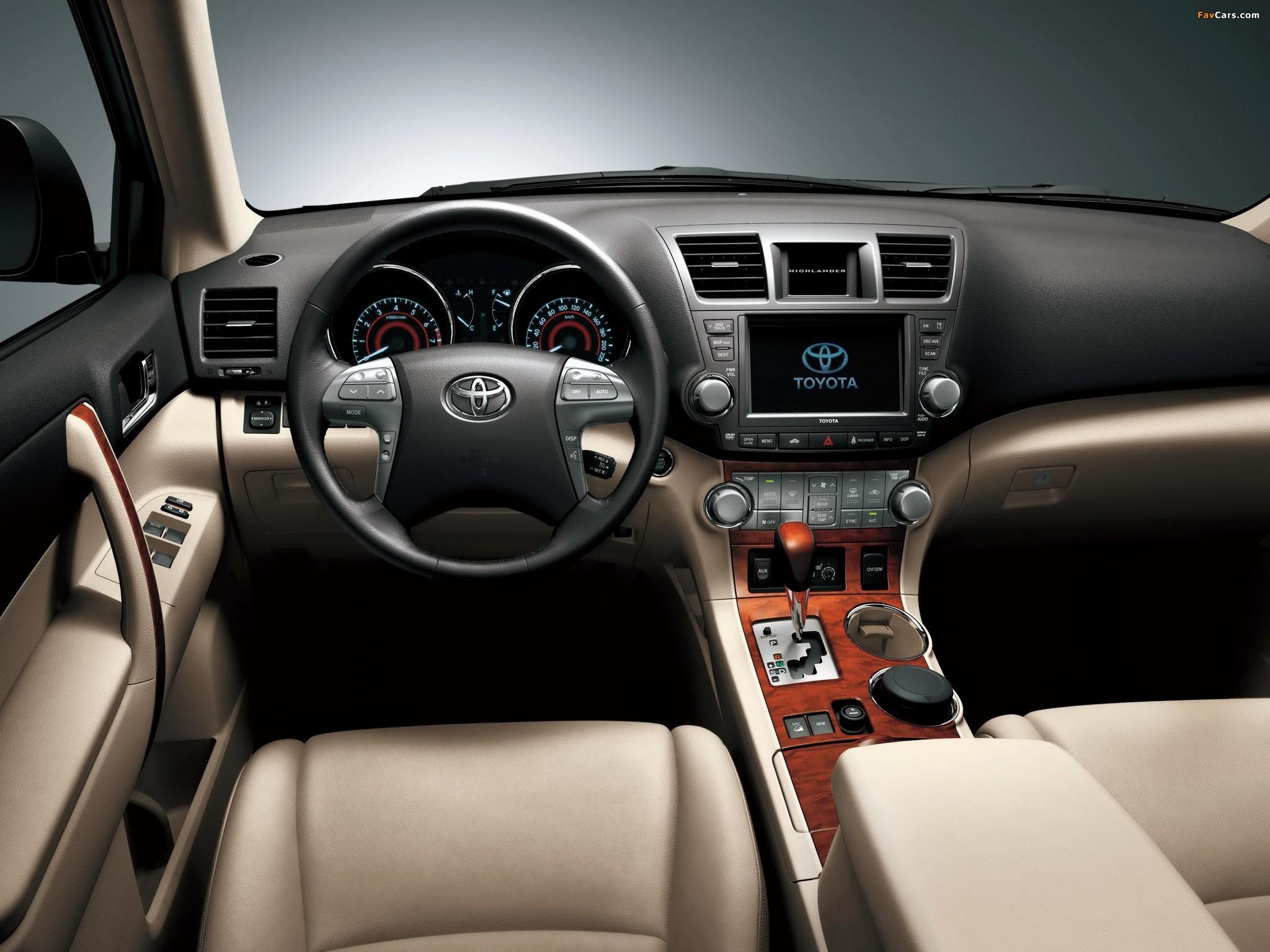 Режимы работы АКПП Toyota Highlander II