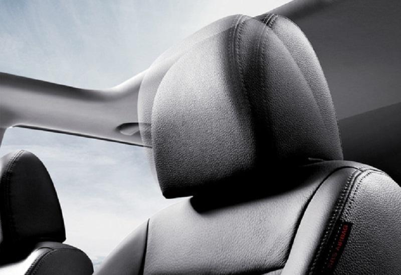 Как устроен активный подголовник на Opel Astra J GTC?