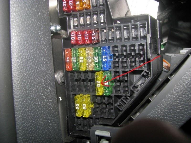 Не работают верхние полоски обогрева заднего стекла VW Jetta VI