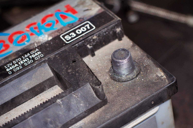 Параметры штатного аккумулятора на Toyota Highlander II