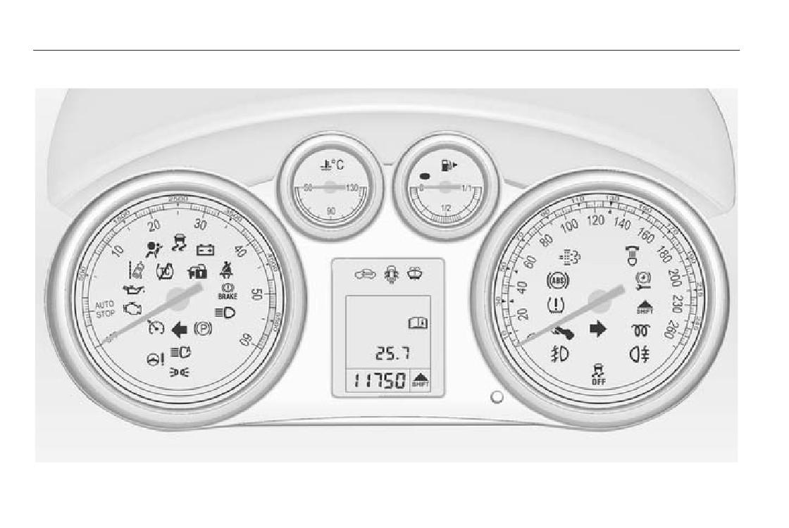 Когда обнуляется счетчик суточного пробега на Opel Astra J GTC?