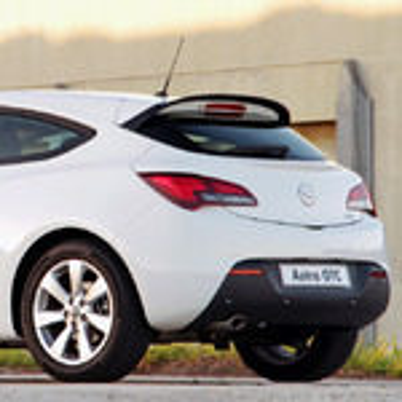 Существуют ли сетки для багажного отделения для Opel Astra J GTC? фото