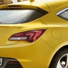 Заклинил лючок бензобака Opel Astra J GTC фото