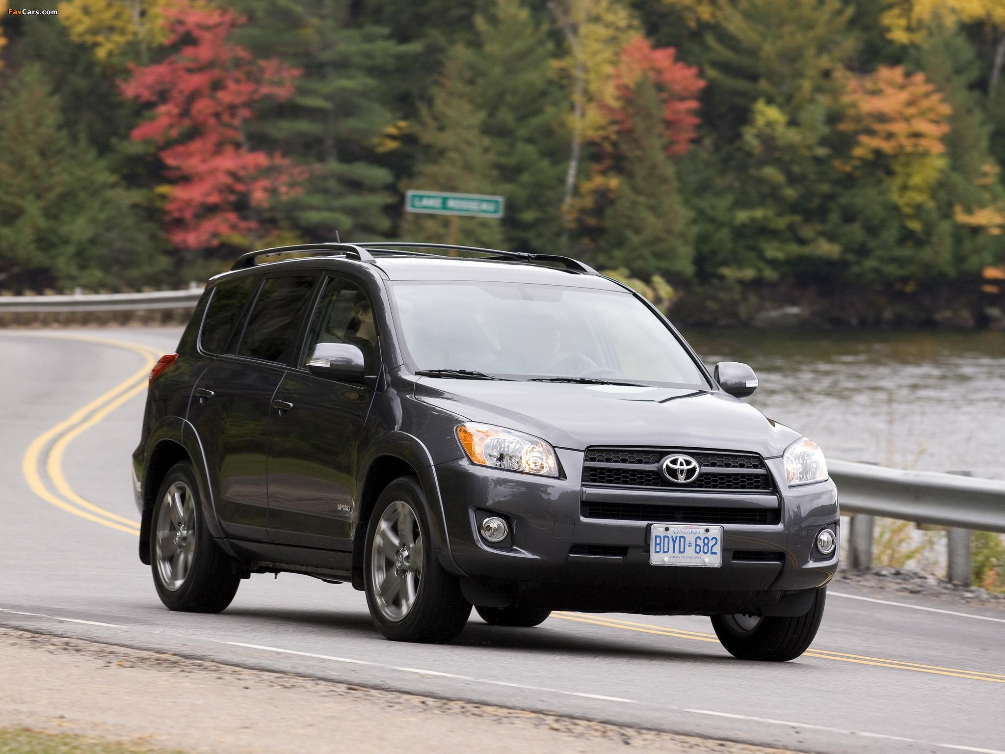 Как правильно буксировать Toyota RAV4 III?