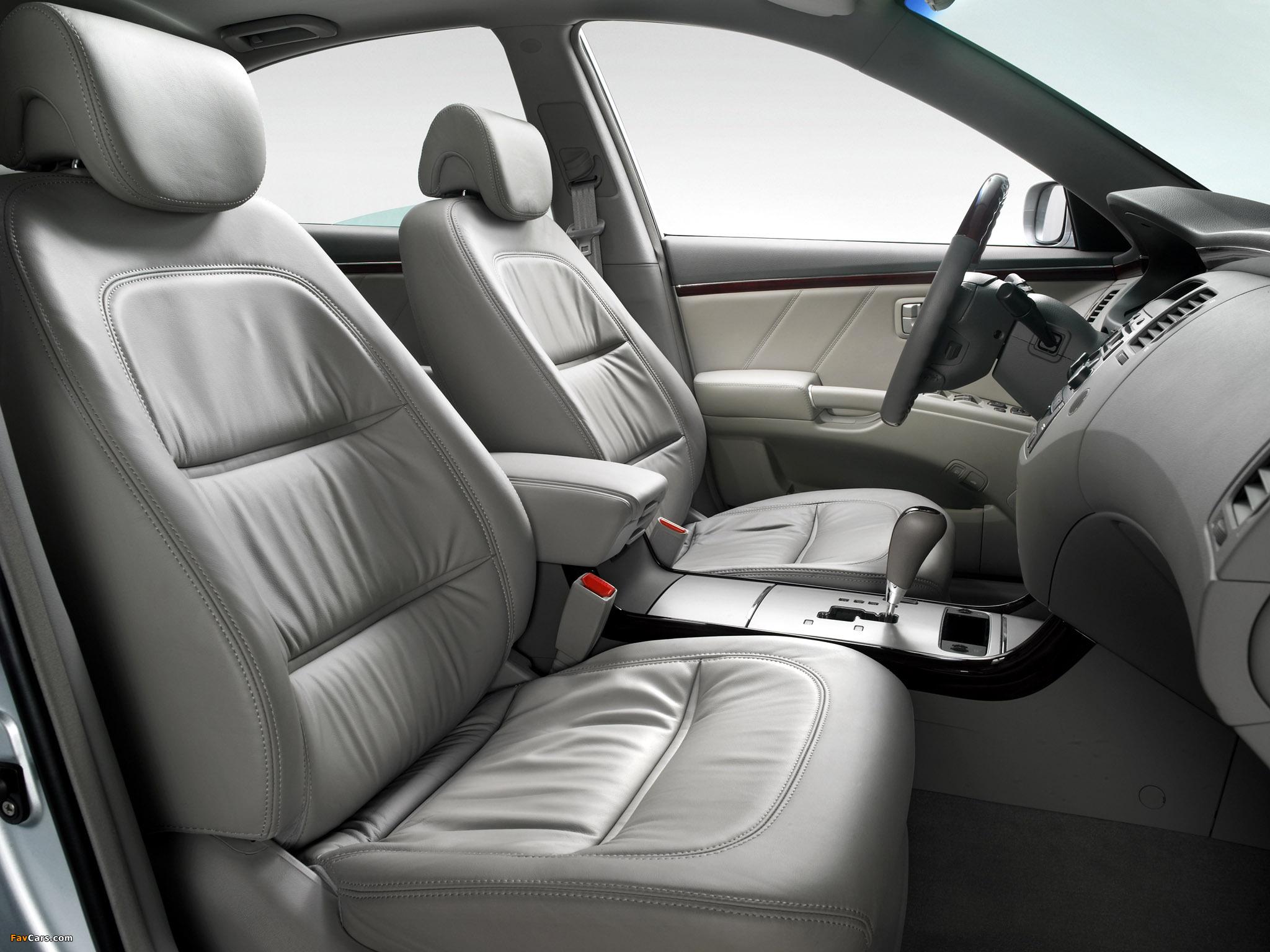 Hyundai Grandeur V — описание модели