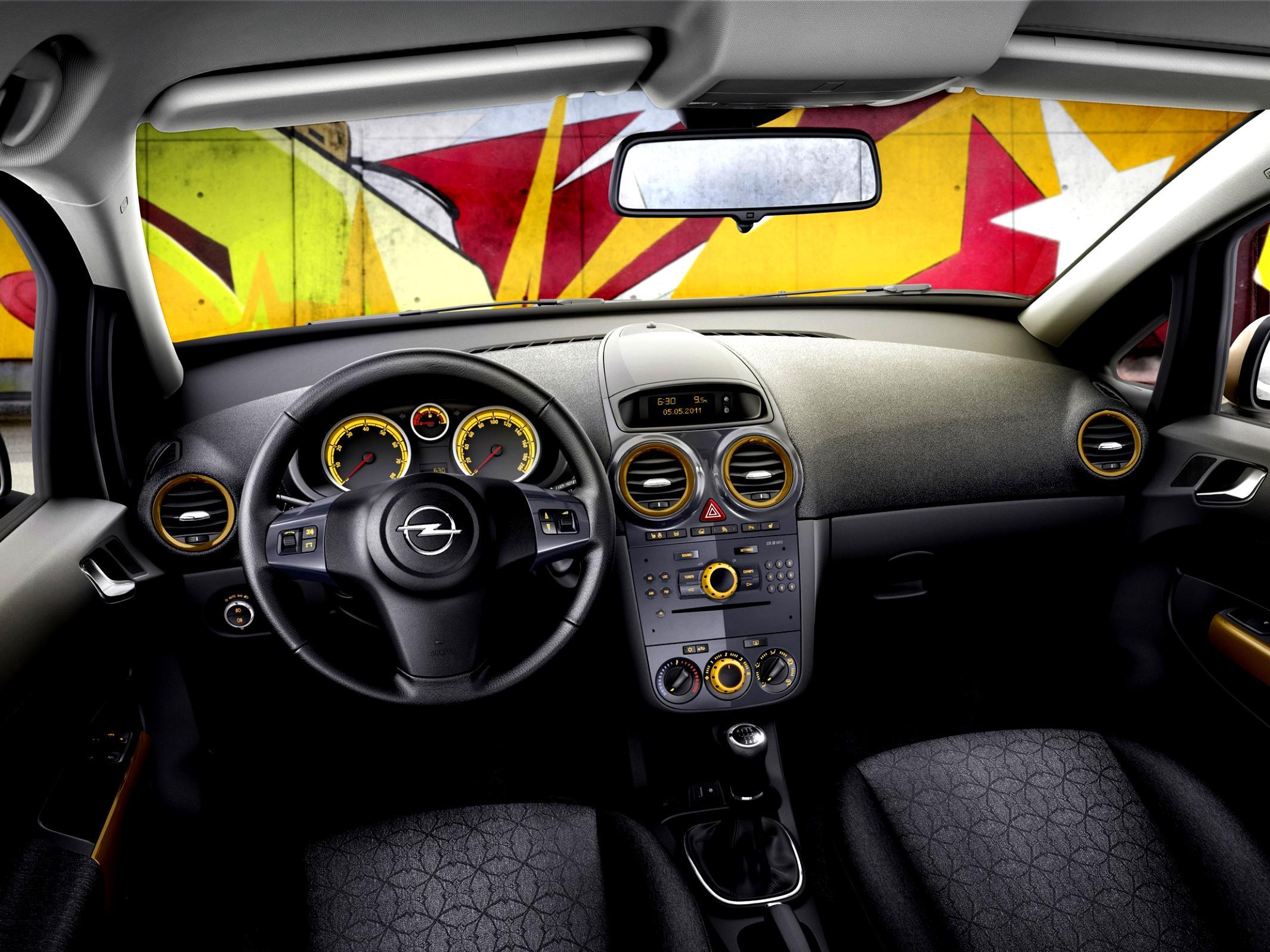Поломка регулятора направления воздуха в салоне Opel Corsa D