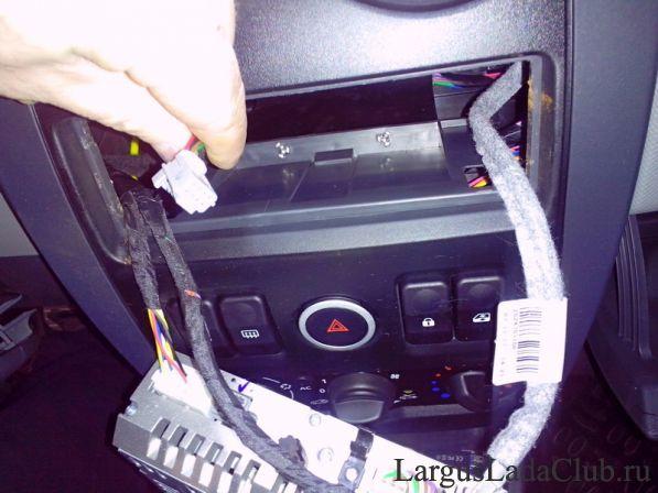 Установка подрулевого джойстика для штатной магнитолы Ford Focus 2