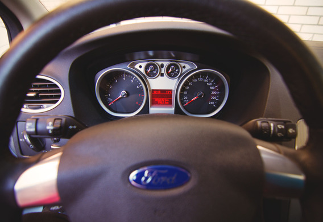 Тестовый режим бортового компьютера Ford Focus 2