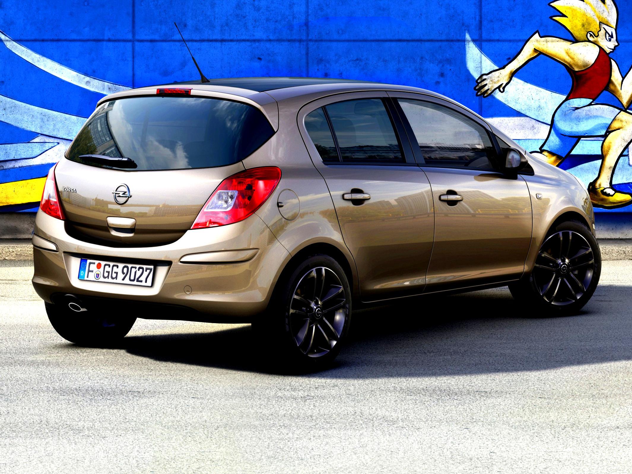 Демонтаж заднего бампера Opel Corsa D