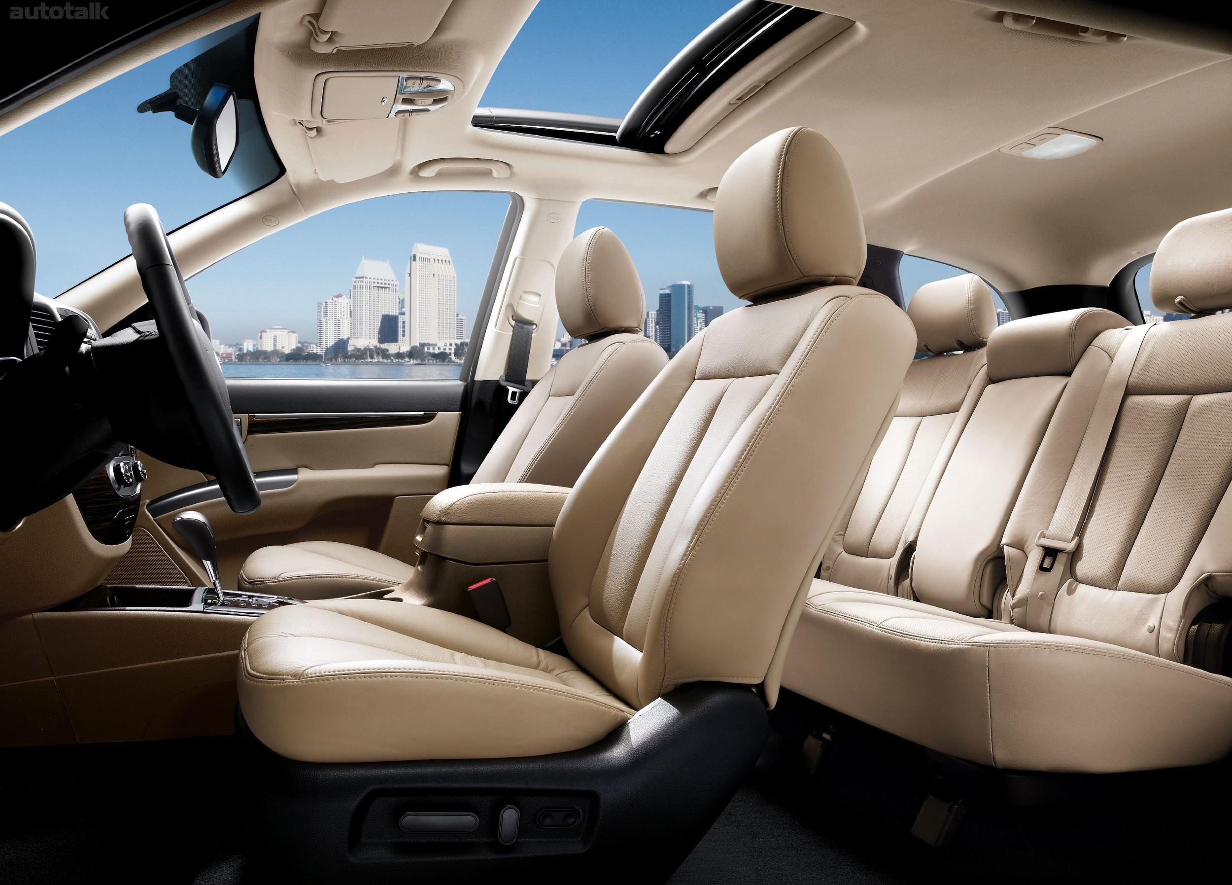 Особенность салонного зеркала Hyundai Santa Fe II