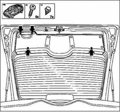 Как снять обшивку двери Opel Corsa D фото