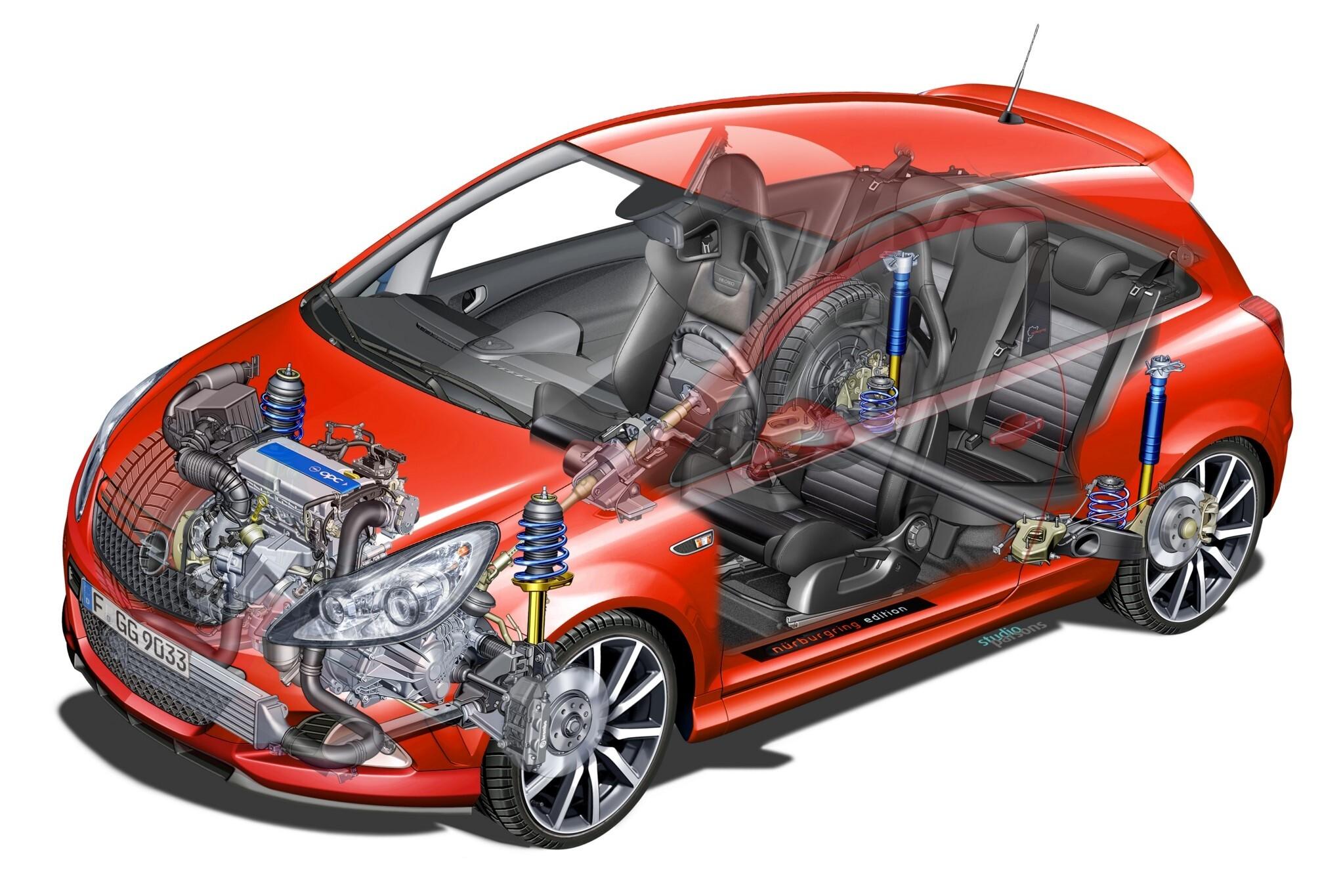 Треск в непрогретом моторе Opel Corsa D