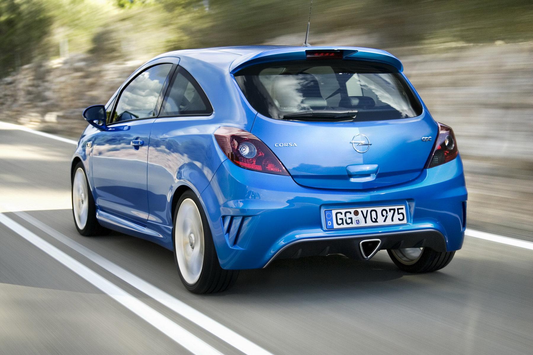 Opel Corsa C — описание модели